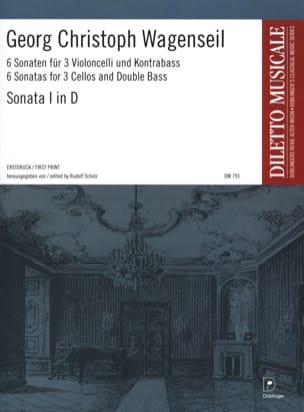6 Sonaten - Nr. 1 D-Dur -Partitur + Stimmen laflutedepan