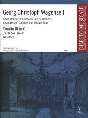 6 Sonaten - Nr. 3 C-Dur -Partitur + Stimmen laflutedepan