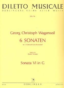 6 Sonaten - Nr. 6 G-Dur -Partitur + Stimmen laflutedepan