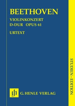 Concerto pour violon en Ré majeur op. 61 - laflutedepan.com