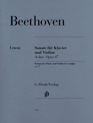 BEETHOVEN - Sonata Op. 47 in Kreutzer - Sheet Music - di-arezzo.co.uk