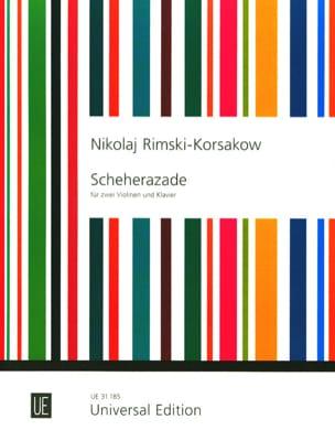 Nicolaï Rimsky-Korsakov - Scheherazade –2 Violinen Klavier - Partition - di-arezzo.fr