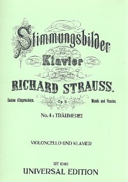 Träumerei op. 9 n° 4 - Richard Strauss - Partition - laflutedepan.com