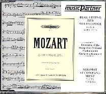 MOZART - CD - Quatuor Avec Flûte Kv 285a - Partition - di-arezzo.fr