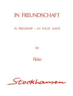 In Freundschaft - Flöte Solo - STOCKHAUSEN - laflutedepan.com