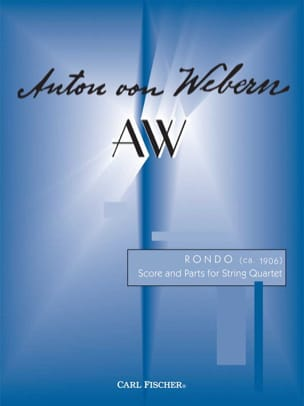 Anton Webern - Rondo - String Quartet - Score Parts - Sheet Music - di-arezzo.co.uk
