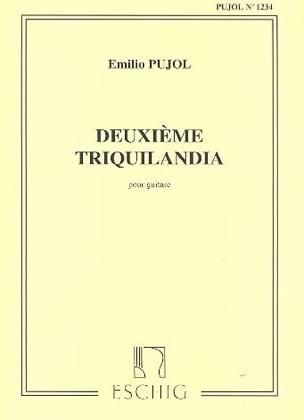 Triquilandia n° 2 Emilio Pujol Partition Guitare - laflutedepan