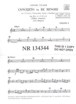 VIVALDI - Concerto in R min. - F. 4 n ° 11 - Equipment - Sheet Music - di-arezzo.co.uk