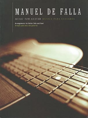 DE FALLA - Music for guitar - Sheet Music - di-arezzo.com