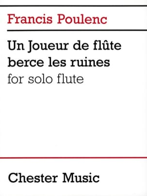 Francis Poulenc - A flute player rocks the ruins - Sheet Music - di-arezzo.com