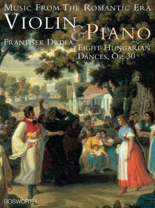 Franz Drdla - 8 Hungarian dances op. 30 - Sheet Music - di-arezzo.co.uk