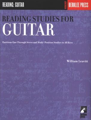 William Leavitt - Reading Studies for guitar - Sheet Music - di-arezzo.co.uk