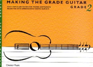 Making the grade Guitar - Grade 2 David Burden Partition laflutedepan