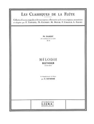Mélodie - Flûte et piano - BEETHOVEN - Partition - laflutedepan.com
