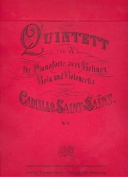 Quintette op. 14 SAINT-SAËNS Partition Quintettes - laflutedepan