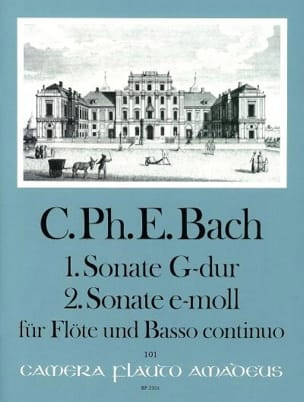 Sonates Nr. 1 G-Dur u. Nr. 2 e-moll - Flöte u. Bc - laflutedepan.com