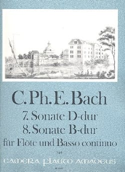 Sonaten Nr. 7 D-Dur u. Nr. 8 B-Dur -Flöte u. Bc - laflutedepan.com