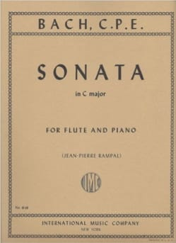 Sonata in C major - Flute piano - laflutedepan.com