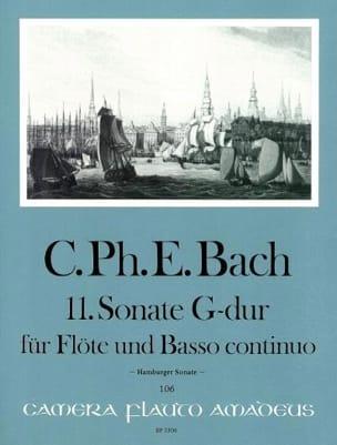 Carl Philipp Emanuel Bach - Sonata n. 11 in sol maggiore - Partitura - di-arezzo.it