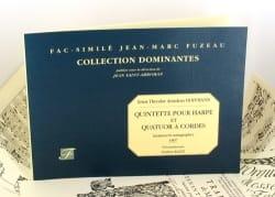 E. T. A. Hoffmann - Quintette pour harpe et quatuor à cordes - Partition - di-arezzo.fr