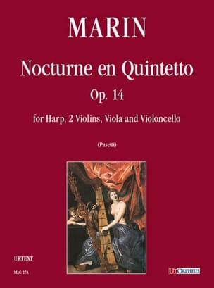 Marie-Martin Marin - Nocturne en Quintetto –conducteur - Partition - di-arezzo.fr