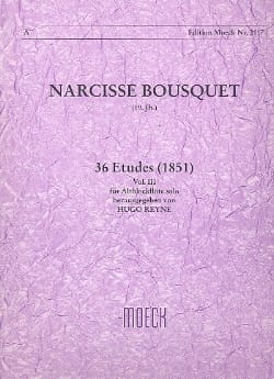 Narcisse Bousquet - 36 Studies 1851 - Volume 3 - Sheet Music - di-arezzo.co.uk