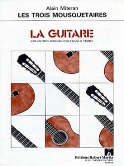 Les trois mousquetaires Alain Miteran Partition Guitare - laflutedepan