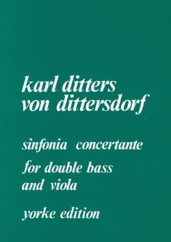 Sinfonia concertante -Double bass Viola Piano - laflutedepan.com