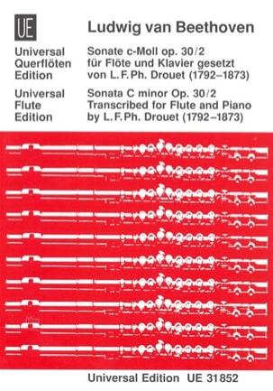 Sonate c-moll op. 30 n° 2 - Flöte Klavier - laflutedepan.com
