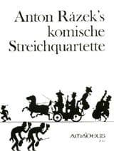 Anton Razek - Komische Streichquartette - Stimmen - Sheet Music - di-arezzo.co.uk
