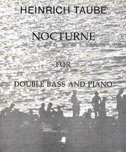 Heinrich Taube - Nocturne - Partition - di-arezzo.fr