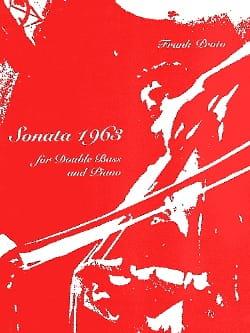 Sonata 1963 Franck Proto Partition Contrebasse - laflutedepan