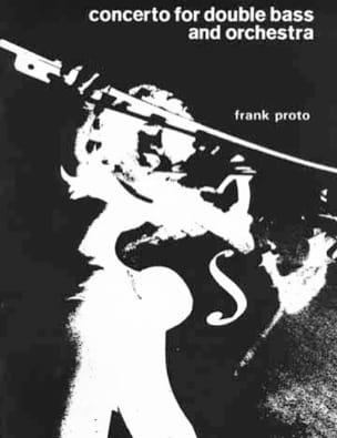 Franck Proto - Concierto para contrabajo y orquesta - Partitura - di-arezzo.es