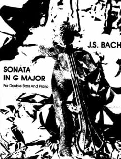 Sonata In G Major BWV 1027 BACH Partition Contrebasse - laflutedepan