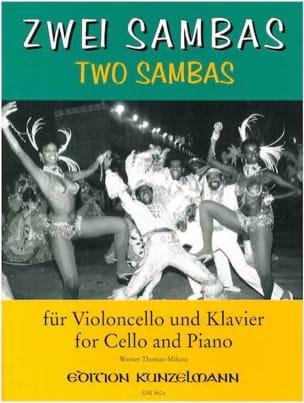 2 Sambas - Werner Thomas-Mifune - Partition - laflutedepan.com