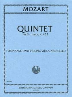 Quintet in Eb major KV 452 -Parts - MOZART - laflutedepan.com