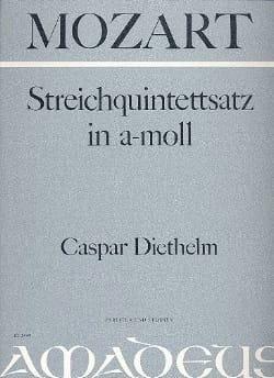 MOZART - Streichquintettsatz in a-moll -Partitur + Stimmen - Partition - di-arezzo.fr