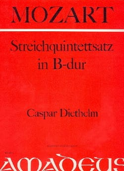 Streichquintettsatz in B-Dur -Partitur + Stimmen - laflutedepan.com