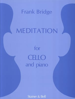 Frank Bridge - Meditation - Cello - Sheet Music - di-arezzo.co.uk