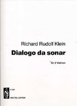 Dialogo da Sonar - Richard Rudolph Klein - laflutedepan.com