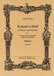Concerto a-moll op. 7 -Streichquintett - Stimmen laflutedepan