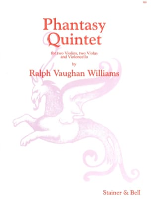 Phantasy Quintet -Score + Parts WILLIAMS VAUGHAN laflutedepan