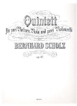 Quintett in e-moll op. 47 -Stimmen Bernhard Scholz laflutedepan