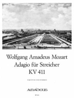 Adagio für Streicher KV 411 - Partitur + Stimmen MOZART laflutedepan