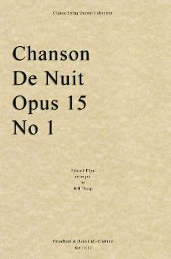 Chanson De Nuit - ELGAR - Partition - laflutedepan.com
