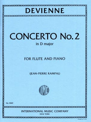 François Devienne - Concerto No. 2 in D major - Sheet Music - di-arezzo.com