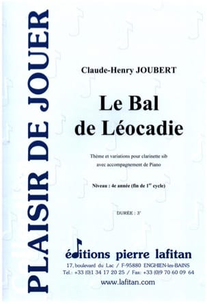 Claude-Henry Joubert - The Léocadie Ball - Sheet Music - di-arezzo.com