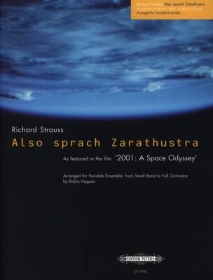 Richard Strauss - Also sprach Zarasthustra – Variable ensemble - Partition - di-arezzo.fr