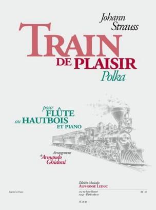 Train de plaisir - Johann Strauss - Partition - laflutedepan.com