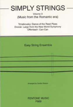 Cecilia Weston - Simply Strings, Volume 3 - String ensemble - Sheet Music - di-arezzo.co.uk